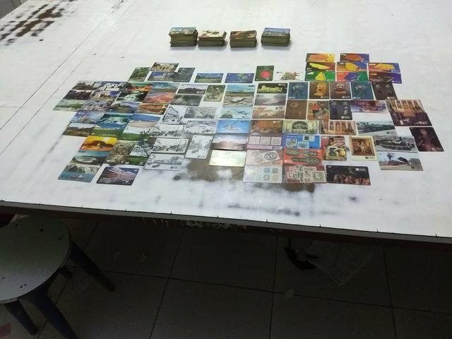 Vendo coleção de cartoes