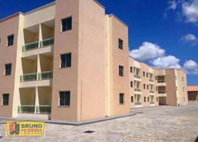 Apartamento residencial para locação, Parque Potira, Caucaia.