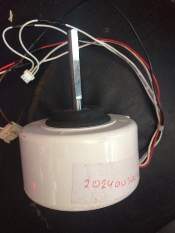 Motor do ventilador da evaporadora