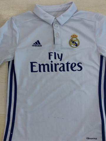 Camisa Real Madrid Infantil oficial 12 anos - Esportes e ginástica ... 8e0223d6280ab