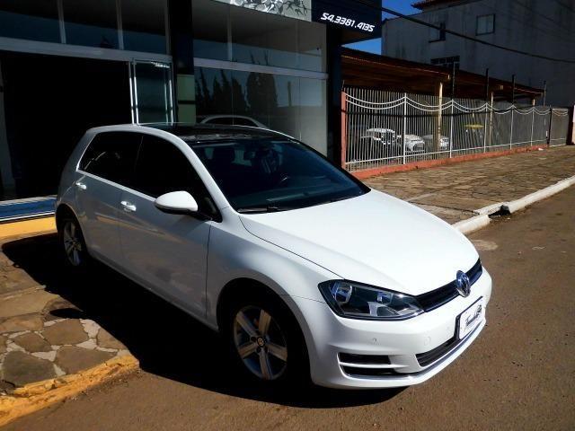 Vw - Volkswagen Golf 1.4 Highline 2014 Autiomático - Foto 3