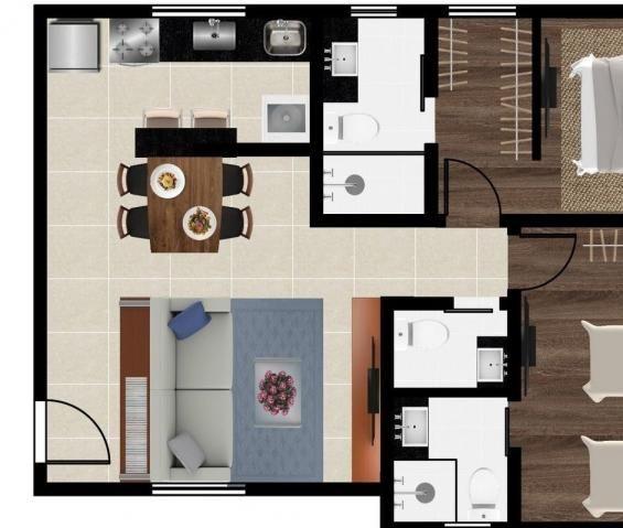 Apartamento à venda, 2 quartos, 2 vagas, barroca - belo horizonte/mg