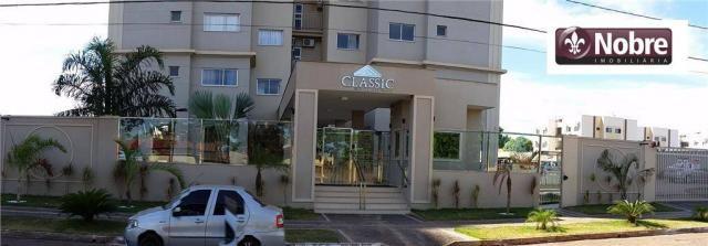Apartamento com 3 dormitórios à venda, 71 m² por r$ 225.000,00 - plano diretor sul - palma - Foto 3