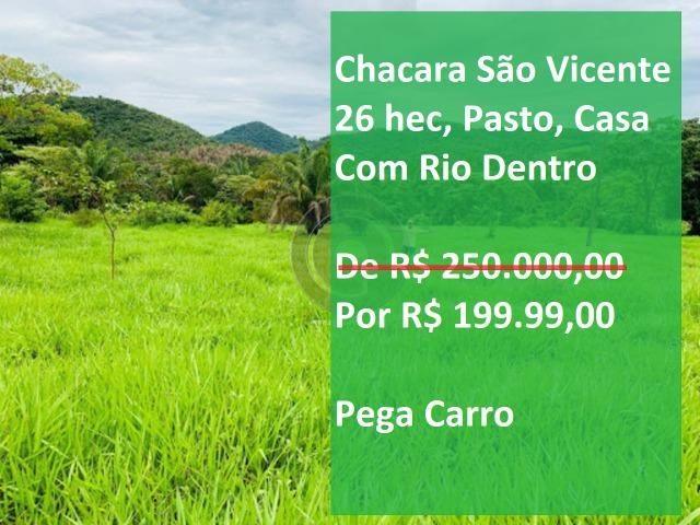 Chácara 26 hec serra são vicente de R$ 250 Mil por R$199.900,00