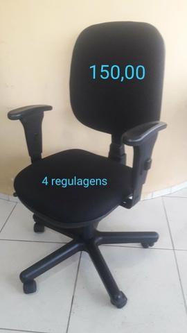 Cadeiras estofadas de escritório - Foto 4
