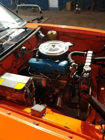 Opala ss de plaqueta original laranja boreal placa preta - Foto 3