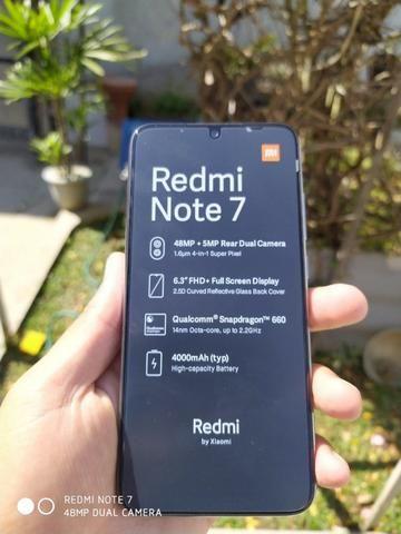 Xiaomi Redmi Note 7 64gb 4gb 48 Mpx Dual/ Versão Global-Novo Com Garantia De 6 Meses - Foto 3