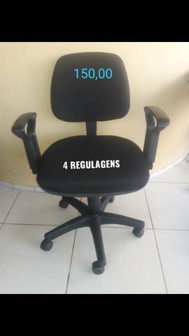 Cadeiras estofadas de escritório - Foto 5