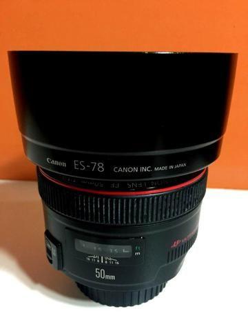 Lente EF 50mm f/1.2L USM - Foto 3