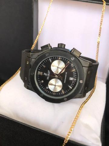 Relógio Hublot Sllim importado
