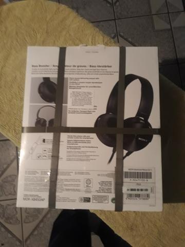 Headphone sony xb450 ap pt - Foto 3
