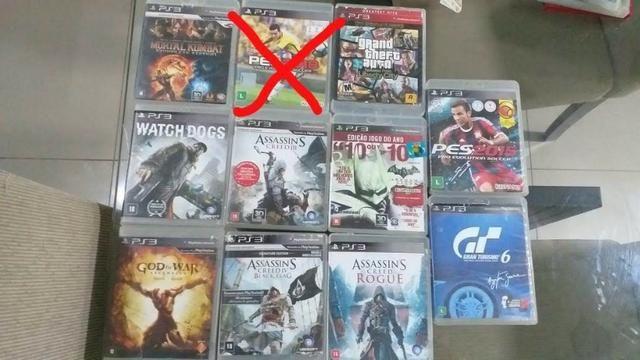 Jogos de ps3 (valor negociável) é também vendemos em unidades em 1 jogos não só o conjunto