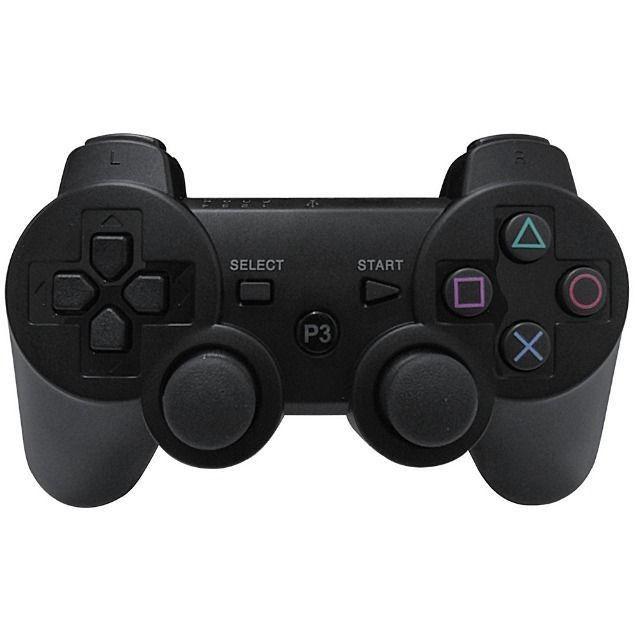 Controle Dualshock Playstation Ps3 Lacrado Sem Fio