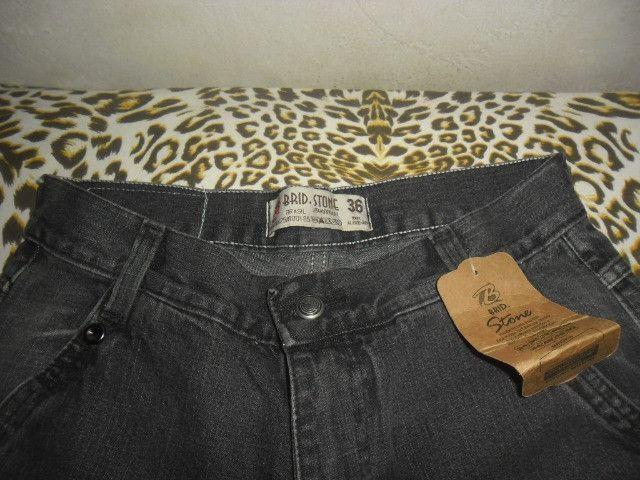 Calça masculina tamanho 36 - Foto 3