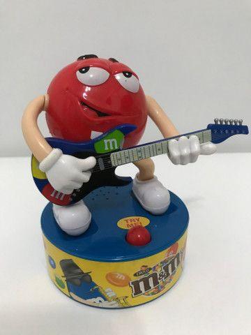Baterista e guitarrista M&M?s musical colecionável - Foto 4