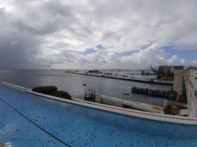 Apartamento Porto Trapiche 1 Quarto 94m2 Nascente Vista Mar Decorado Orla Contorno - Foto 7