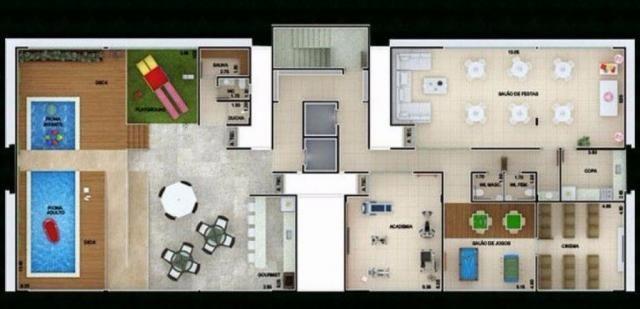 Apartamento à venda com 2 dormitórios em Castelo branco, João pessoa cod:23315 - Foto 3