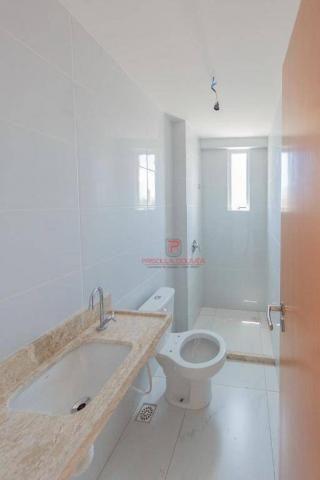 Apartamento 3 quartos no Bessa com varanda gourmet e área de lazer - Foto 12
