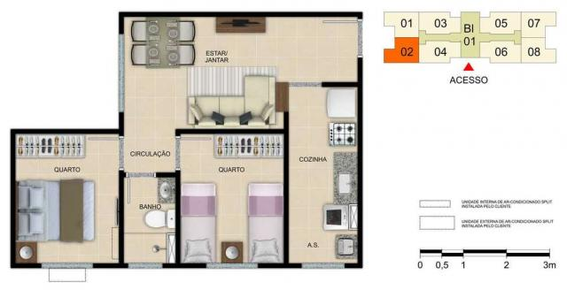 Spazio Vila da Glória - Apartamento de 2 quartos em Vila Velha, SP - ID3715 - Foto 13