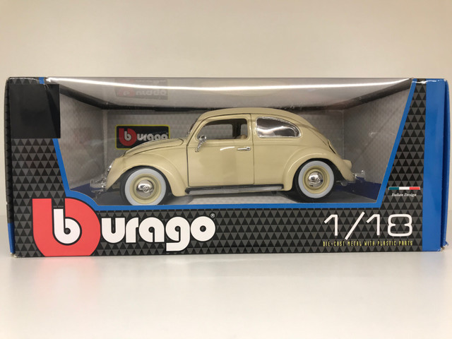 Miniatura Fusca Kafer Beetle Burago 1 18 - Foto 2