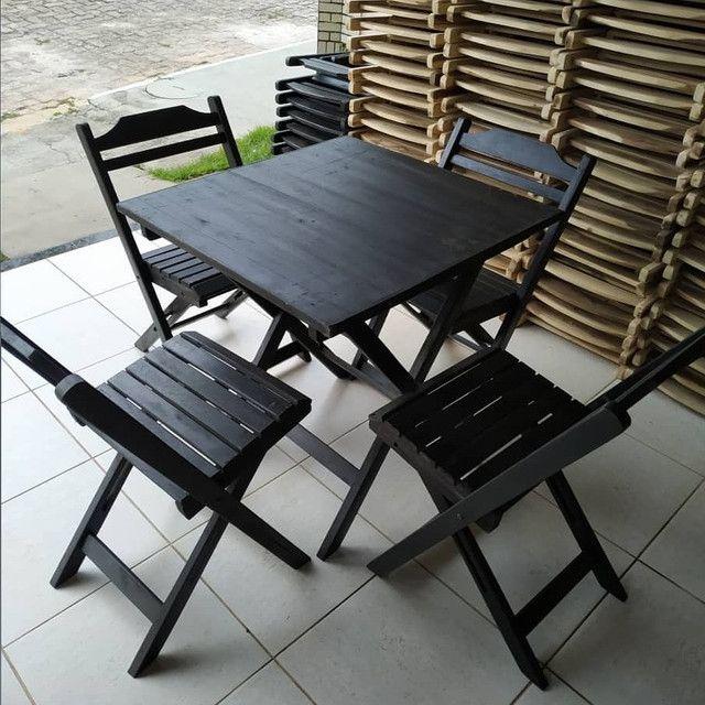 Mesas e cadeiras direto de fábrica  - Foto 3