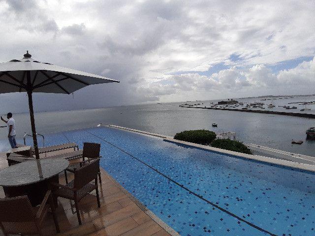 Apartamento Porto Trapiche 1 Quarto 94m2 Nascente Vista Mar Decorado Orla Contorno - Foto 9