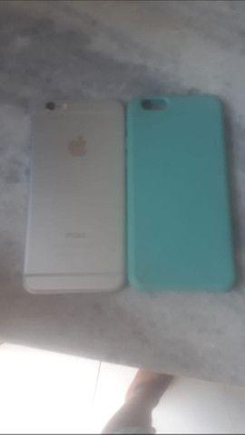 Iphone 6 Vende se ou troca né um 7.whatsapp * - Foto 2