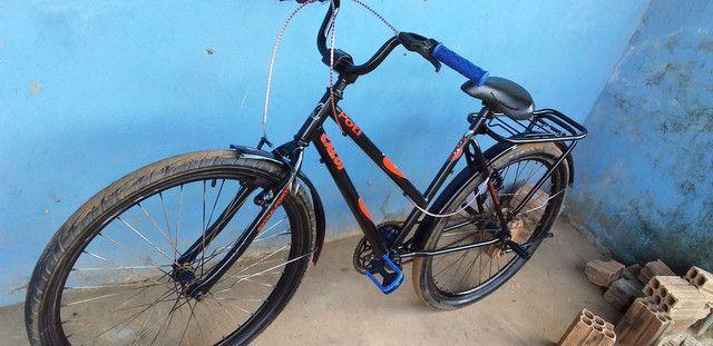 Vendo essa bicicleta ta top  - Foto 3