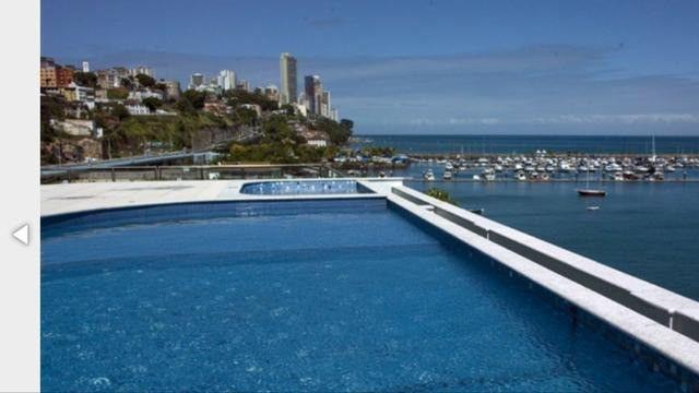 Apartamento Porto Trapiche 1 Quarto 94m2 Nascente Vista Mar Decorado Orla Contorno - Foto 4