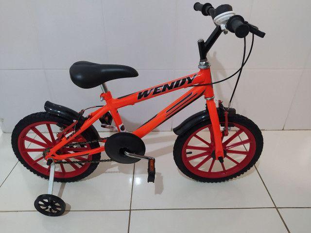 Bike infantil aro 16 - Foto 4