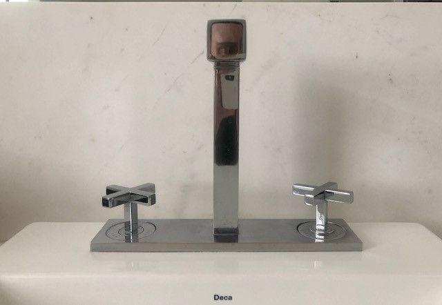 Misturador de bancada Deca - Quadratta Classica - usado SP