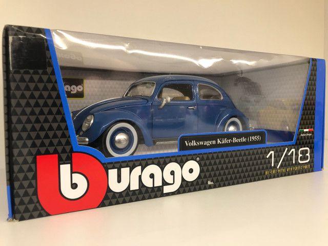 Miniatura Fusca Kafer Beetle Burago 1 18 - Foto 3