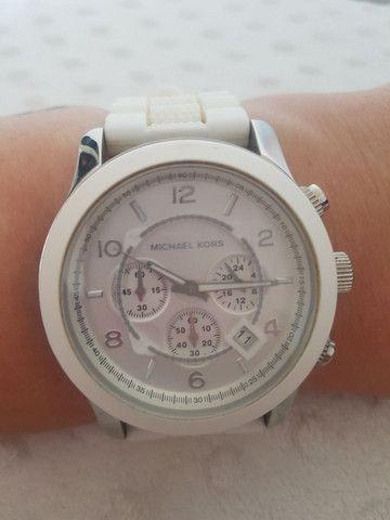 Relógio Michael Kors Branco  - Foto 3