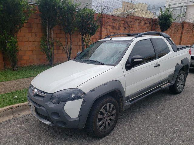 FIAT Strada  adventure Cd 2015 único dono