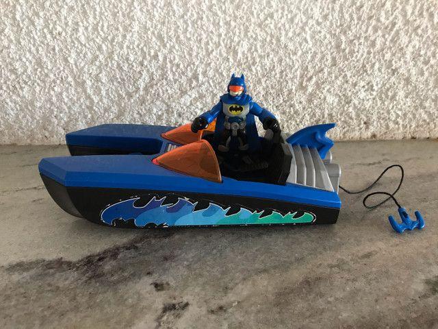 Lancha do Batman DC comics Imaginext  - Foto 5