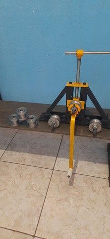 Calandras e curvadoras Steelmec Metalúrgica  - Foto 4