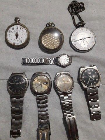 Relógios Seiko antigos. - Foto 3