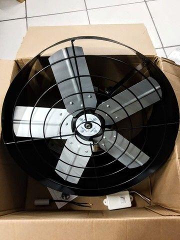 Exaustor 40cm Baixo Ruído + Chave Reversão Blindado E Bivolt - Foto 2