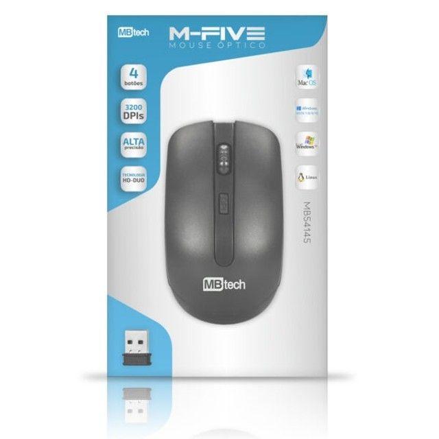 Mouse s/Fio Mb-Tech M-Five