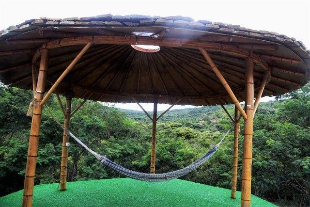 Vale do Capão Casa Artística 15 mil m2 com rio 2 quartos a menos de 1km da vila - Foto 3