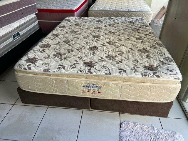 Probel cama queen size semi nova espuma - Foto 3