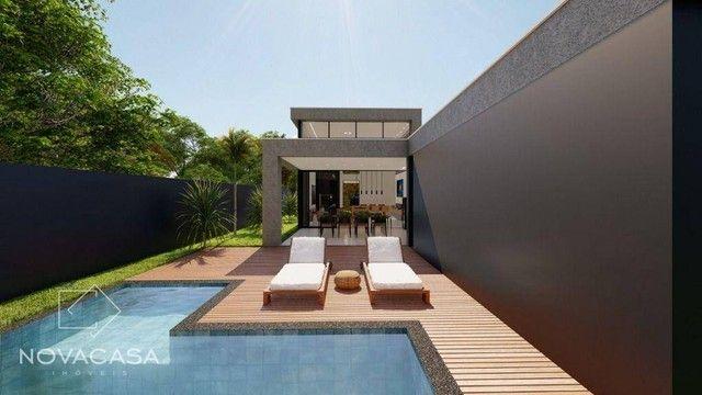 Casa com 4 dormitórios à venda, 318 m² por R$ 1.990.000,00 - Alphaville Lagoa dos Ingleses - Foto 13