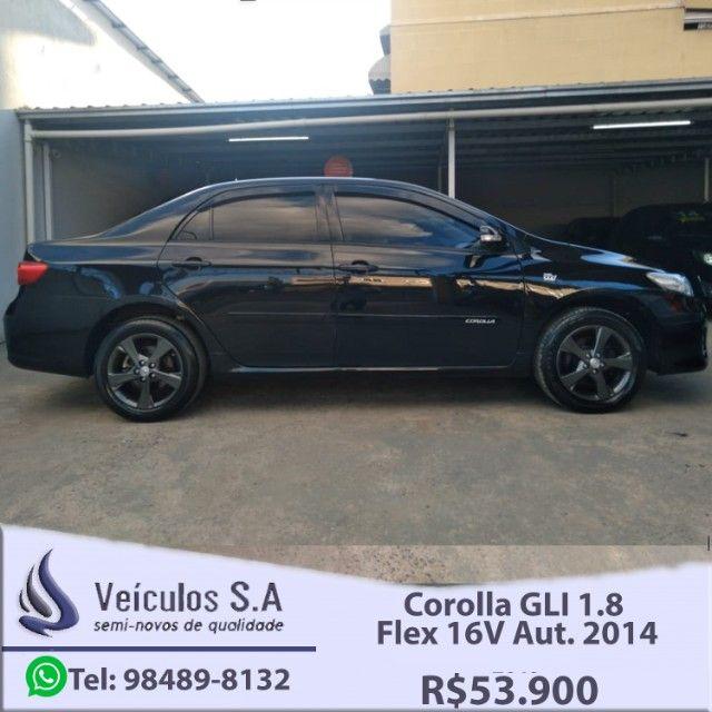 Corolla GLI 1.8 Flex 16V Aut. 2014 - Foto 3
