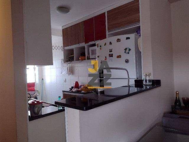 Apartamento com 2 dormitórios à venda, 48 m² por R$ 250.000,00 - Parque Jandaia - Carapicu - Foto 2