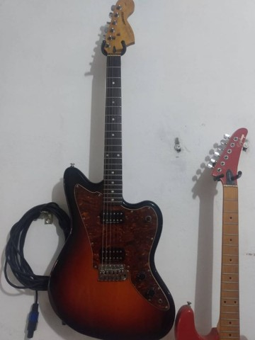 Guitarra squier fender jagmaster - Foto 5