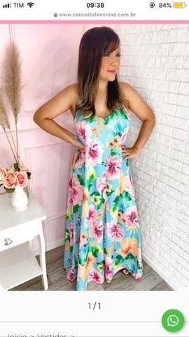 Vendo vestido florido soltinho! ??