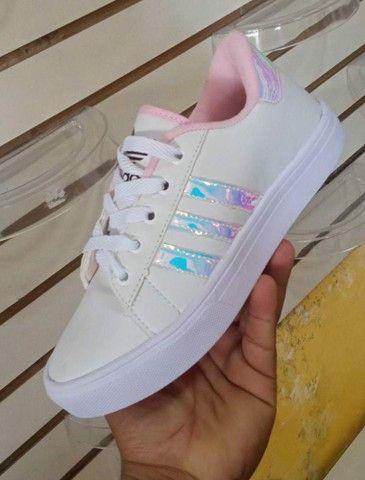 Vendo sapatênis Adidas e tênis Asics ( 110 com entrega) - Foto 2