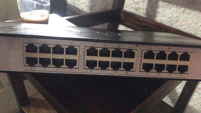 Switch 24 portas Intelbras  - Foto 2