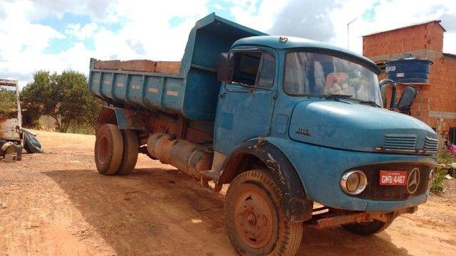 Vendo caminhão caçamba basculante 1113 turbinada