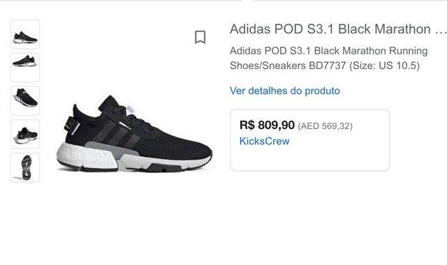 Tenis adidas POD-S 3.1 39-40 PREÇO NEGOCIÁVEL  - Foto 5